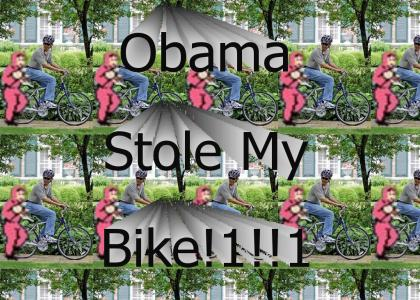 Obama Nigga Stole My Bike