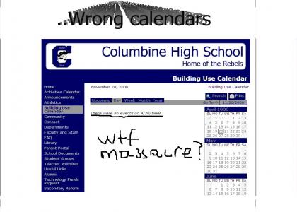 Columbine had ONE weakness