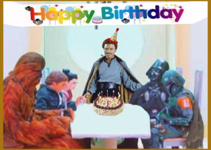 Lando Calrissian's Birthday
