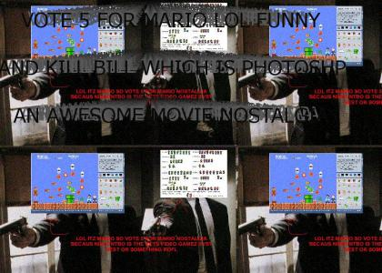 HEY GUYZ LOOK I FOTOSHOPED MARIO SRPITES INTO A POPULAR MOVIE VOET 5