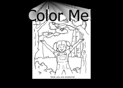 Awesome God Coloring Book