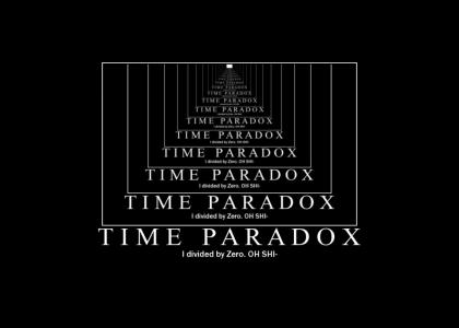 Life Lessons # 23: Time Paradox