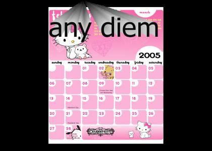 NEDM Calendar