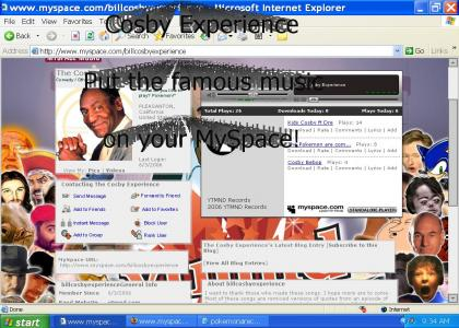 YTMND Takes over MySpace with Cosby Experience