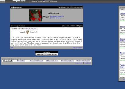 Xenu's Livejournal