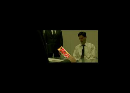 Agent Smith doesn't Share(better quality)