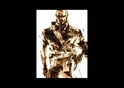 You can't run from Ocelot (Metal Gear)