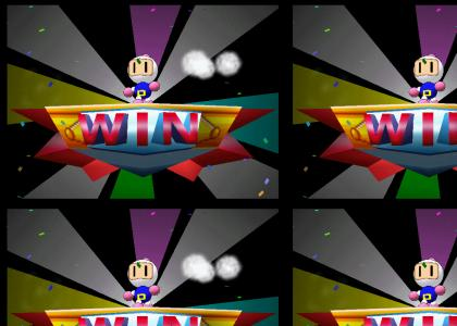 Bomberman wins!
