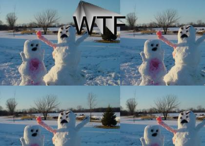 Cannibal Snowman