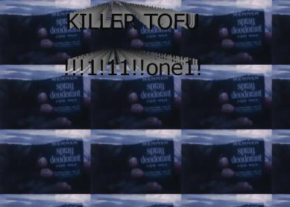 killer tofu deodorant