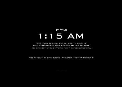 1:15 AM EST Deadline