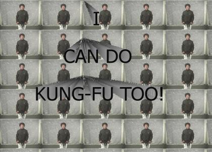 Patrick Duffy does Kung Fu!