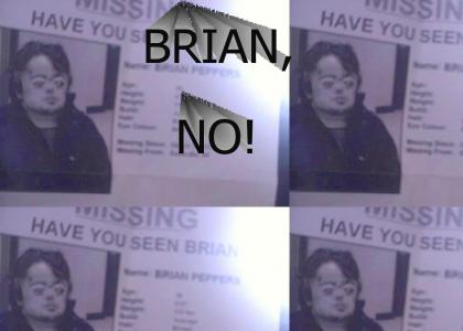 Brian Peppers, missing?!
