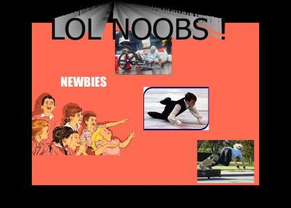 Noobs at Sports !