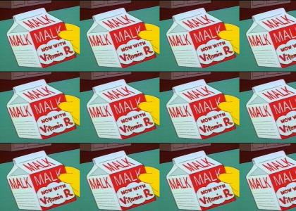 MALK now with vitamin R!