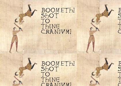 Medieval headshot