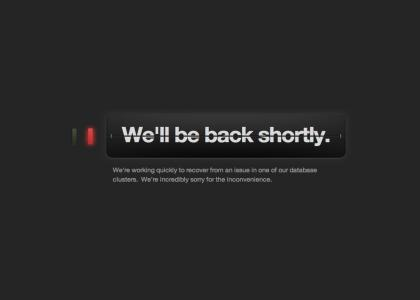 Tumblr is down!