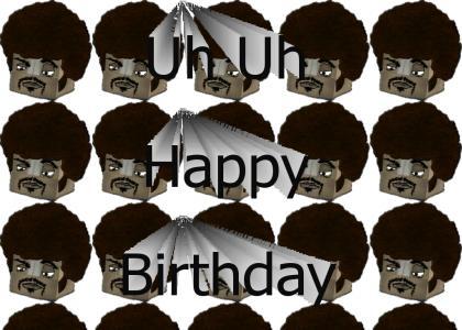 Boxy Brown Happy Birthday