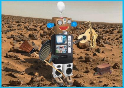 RRRRR: A picnic on Mars