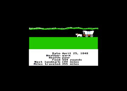 Snake Fails at Oregon Trail