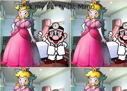 F*ck my pu**y Dr. Mario (more princess cleavage)