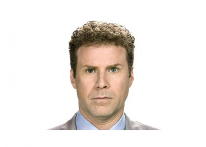 Will Ferrell stares into your soul