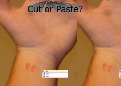 Cut or Paste Emo