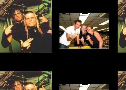 Dane Cook rips of the Hardy Boyz