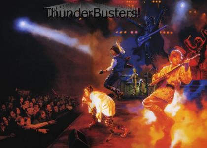 ThunderBusters (What the Star Wars concert was playing)