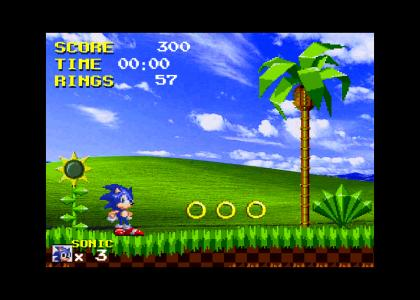 Sonic The Hedgehog: Windows XP Zone.