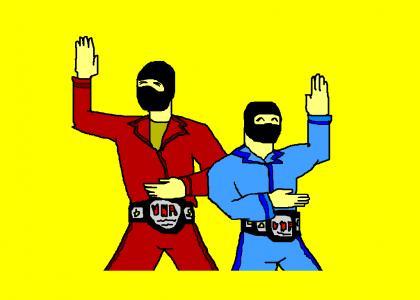 Yoshidas Tag Team Champs!