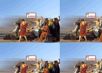 lol Death of Socrates
