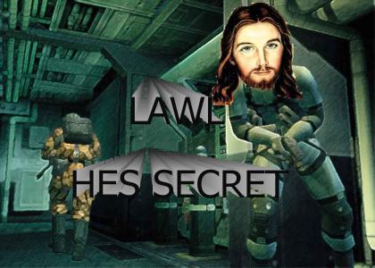 LAWL SECRET JESUS!