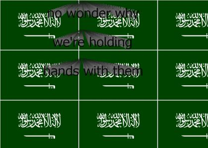 Saudi Arabia has a catchy national anthem!