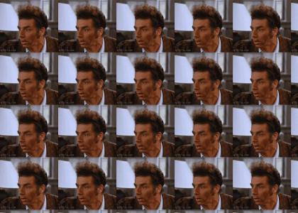 Kramer is scared