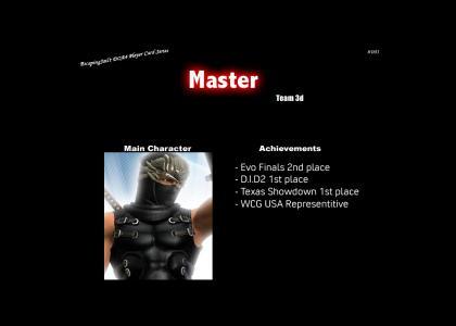 Master Character Card