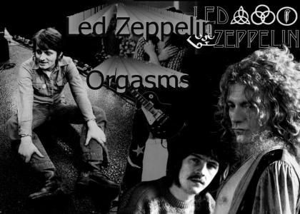 Led Zeppelin Orgasms