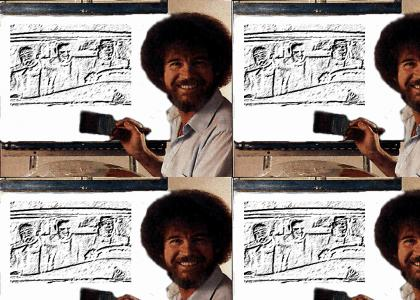 Bob Ross asks what is love