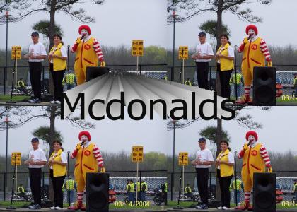 Ronald Mcdonald had only one weakness