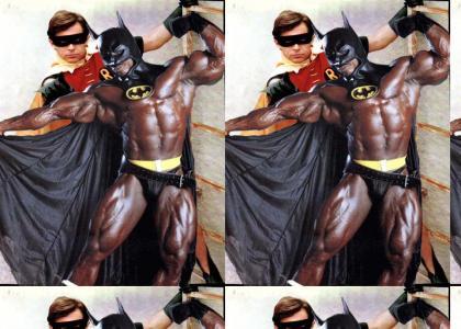 Batman is a blackman