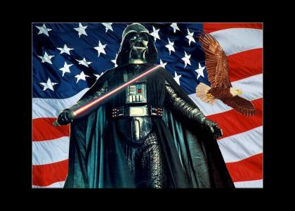 "Vader sings ""I Am a Real American"""