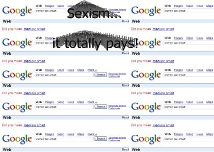 Google is sexist!