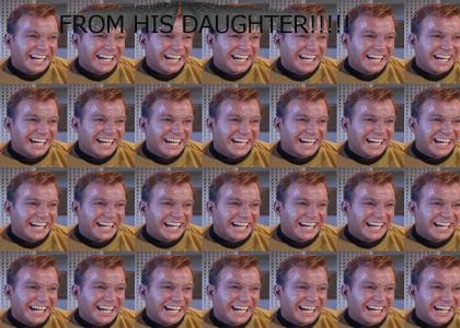 Shatner tries to get some