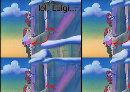 a Luigi moment...