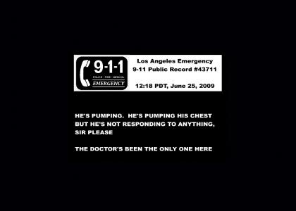 Actual Michael Jackson 9-1-1 Tapes