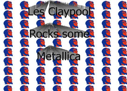 Claypool does Metallica