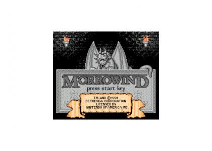 Morrowind for NES
