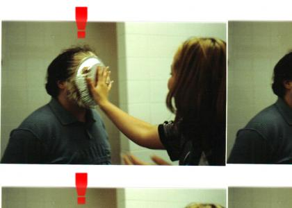 Pie in the face surprise 2