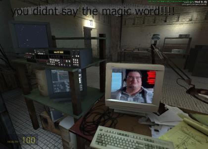 half-life magic word