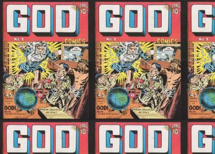God Kicks Nazi Butt